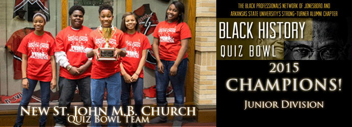 Black History Quiz Bowl St John MB Church