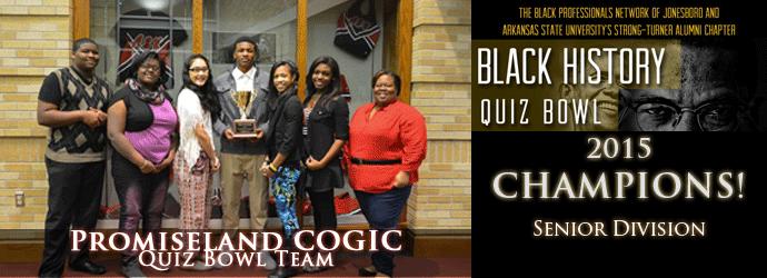 Black History Quiz Bowl Promiseland COGIC