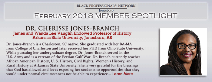Dr. Cherisse Jones-Branch
