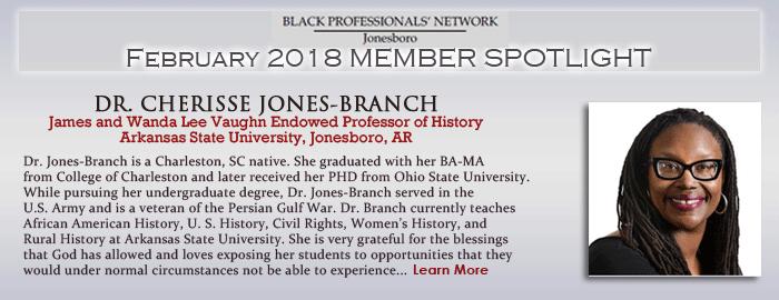 Dr. Cherisse Jones-Branch